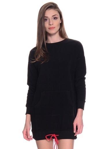 Limon Company Sweat Elbise Siyah